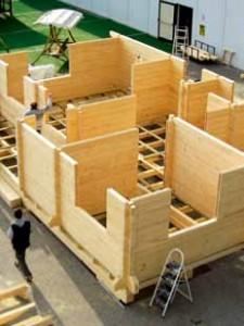 kit de casas de madera