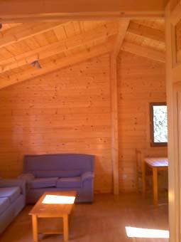 Resistencia contra el fuego de una casa de madera