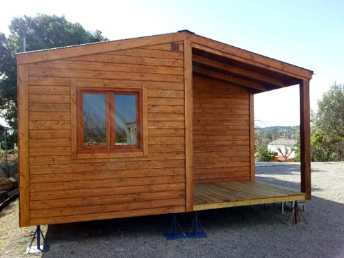 casa de madera CCR42 de Casas Carbonell