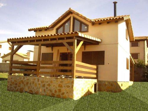 Casas de madera, modelo Orea de Casas Carbonell