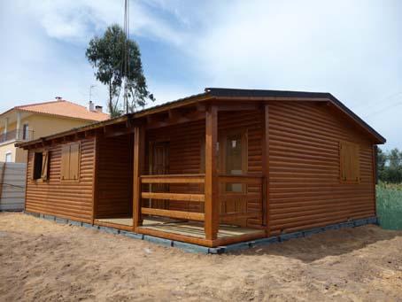 Casas de madera en zonas húmedas y lluviosas
