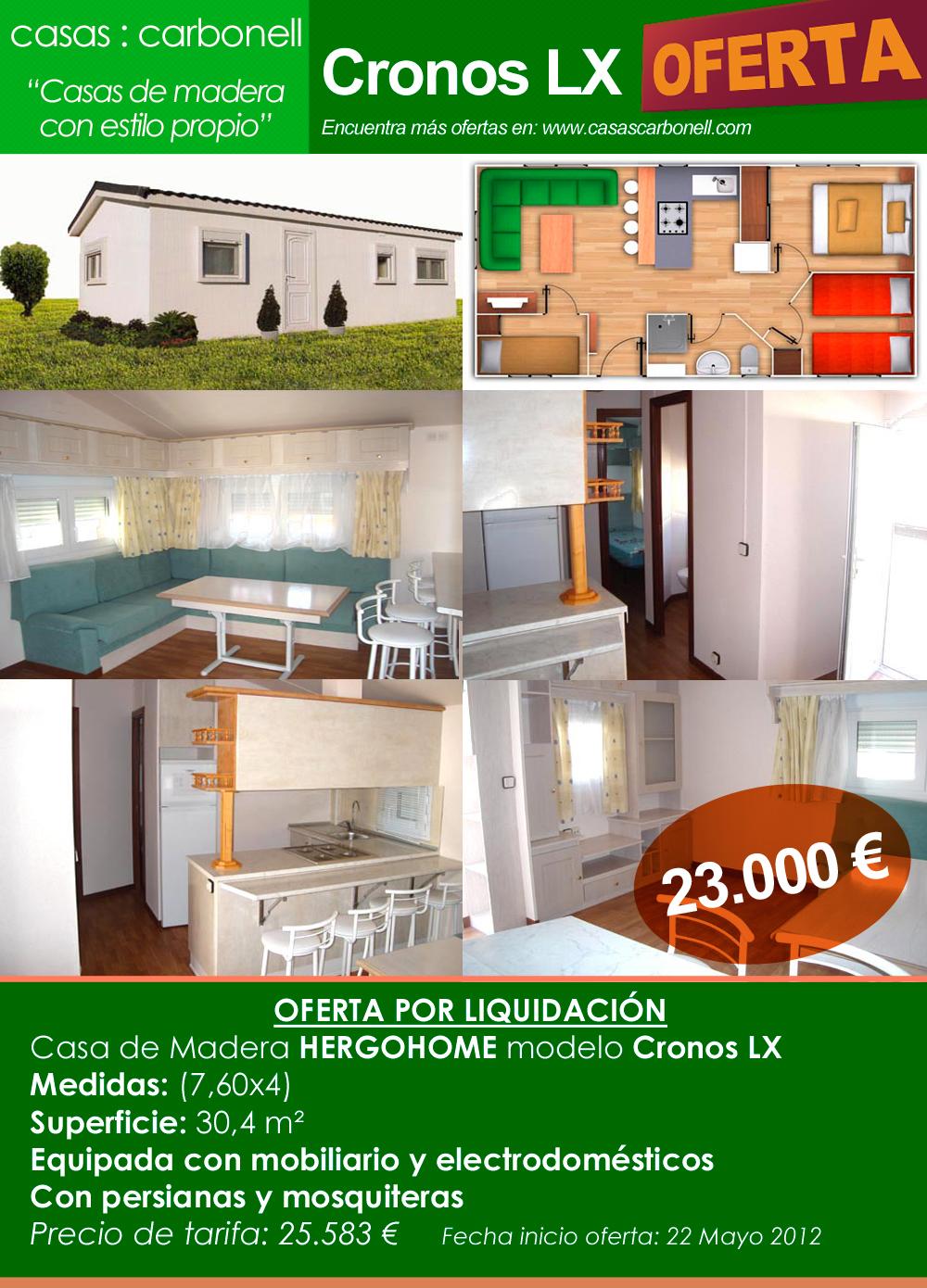 Ofertas en casas prefabricadas en Casas Carbonell