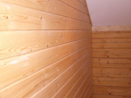 Revestimientos de madera en casas