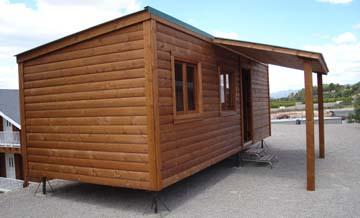 casas móviles con ruedas, casa modular de madera CCR28