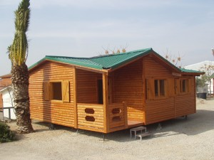 Casas madera con ruedas de Casas Carbonell