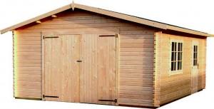 garaje de madera 2