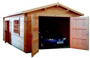 garaje de madera 3