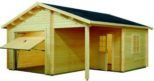 garaje de madera 4