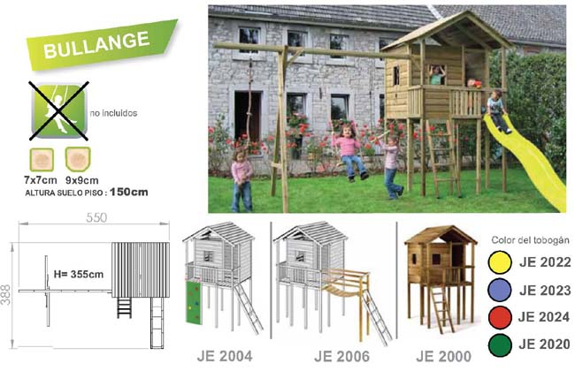 parque infantil de jardin torre bullange