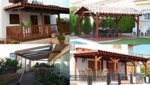 Porches en Casas Carbonell
