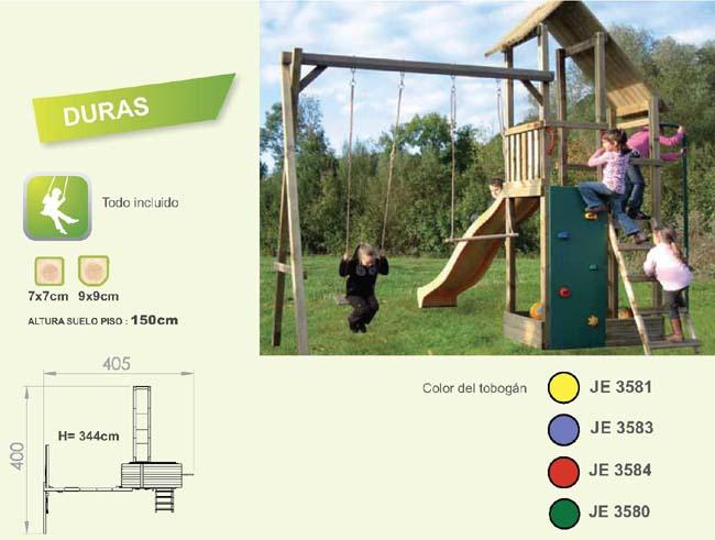 parque infantil duras