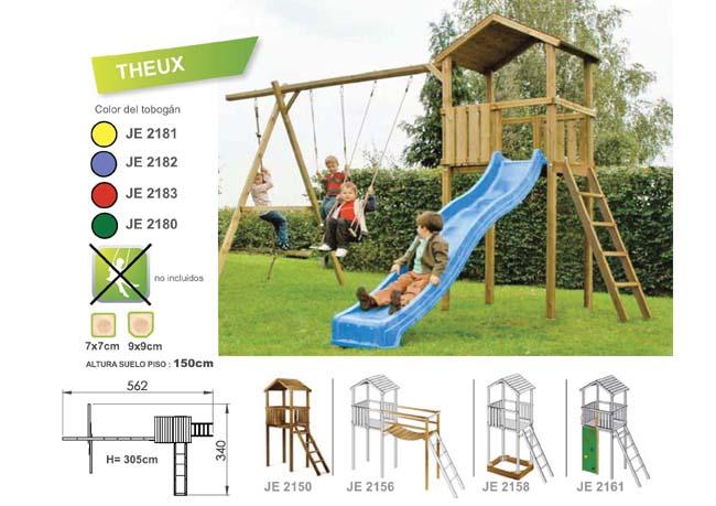 parque infantiles de madera torre theux